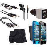 Kit Conjunto 12 Acessórios Para Iphone 5 Isound5312 Isound