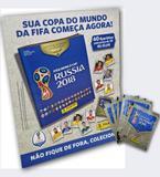 Kit Copa Russia 2018: Cartela + 60 Figurinhas - Panini