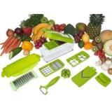 Kit Cortador de Alimentos Processador Triturador Manual - Comercialize