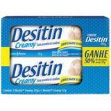 Kit Creme Preventivo de Assaduras Desitin Creamy 113g + 57g