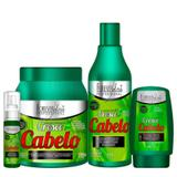 Kit Cresce Cabelo Profissional Completo Forever Liss
