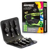 Kit de Cabos Retráteis 7 em 1 - USB 2.0, P2 3.5mm, RJ45 - Maxprint - Outras