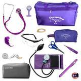 kit de enfermagem completo com medidor de pressão P.a.med - Premium