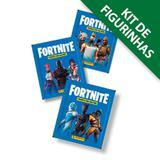 Kit de Figurinhas Fortnite - Contém 12 envelopes (60 cromos) - Panini