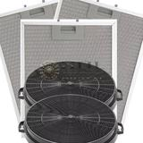 Kit De Filtros Metálico + Carvão Para Coifas Electrolux 90cx