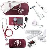 Kit De Fisioterapia Goniometro Martelo Buck Oximetro - Premium, incoterm ou p.a.med