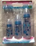 Kit de mamadeiras prince azul