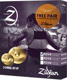 Kit de pratos zildjian planet z - plz1418 - 14hh 18crash/ride