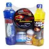 Kit de produtos para limpeza de carro 5 em 1 + esponja grátis - Atef