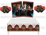 Kit Decoração de Festa Harry Potter * Painel + Toalha de Mesa  + Balões - Festcolor
