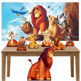 Kit Decoração de Festa Totem Display 8 peças O Rei Leão - Inove adesivos