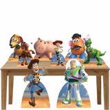 Kit Decoração de Festa Totem Display Toy Story - 8 Peças - Inove adesivos