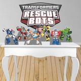 Kit decoração de festa totem e display 7pçs - Transformers - Inove adesivos