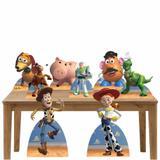 Kit decoração de festa totem e display 8pçs - Toy Story - Inove adesivos