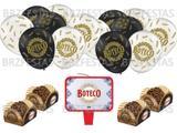 Kit Decoração Festa De Boteco * 40 Forminhas P/ Doces + Vela + 25 Balões - Festcolor