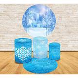 Kit Decoração Mini Table Inverno Gelo - Fabrika de festa