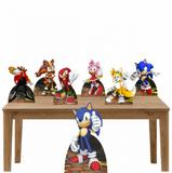 Kit decoração Totem Display 7pçs - Sonic - Inove adesivos