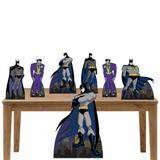 Kit decoração totem e display 7peças - Batman - Inove adesivos