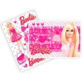 Kit Decorativo Cartonado Barbie Core Regina Festas