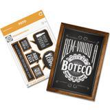 Kit Decorativo Cartonado Boteco Festcolor