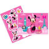Kit Decorativo Cartonado Minnie Rosa - Festabox
