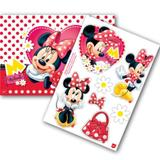 Kit Decorativo Cartonado Minnie Vermelha Regina Festas