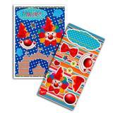 Kit Decorativo Cartonado Palhaço Feliz Regina Festas