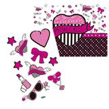 Kit Decorativo Cartonado Princess Pink - Festabox