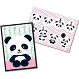 Kit Decorativo Panda Baby Festcolor - Festabox