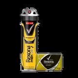 Kit Desodorante Antitranspirante Aerossol Rexona V8 150ml + Sabonete Rexona Sport 84g
