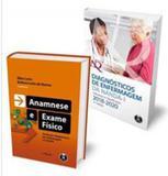 Kit diagnósticos de enfermagem da nanda-i + anamnese e exame físico - 2 volumes - Artmed editora