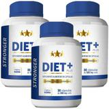 Kit Diet + Stronger 30 cáps Plus - 3 unidades