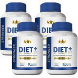 Kit Diet + Stronger 30 cáps Plus - 4 unidades