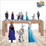 Kit Display Decorativo Festa Frozen - 9 Peças - 1 print