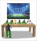 Kit Display mdf Futebol Com 07 Pçs + Painel Grande - X4adesivos