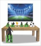 Kit Display mdf Futebol Com 07 Pçs + Painel - X4adesivos