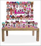 Kit Display mdf LOL Surprise Com 14 Pçs + Painel Grande - X4adesivos