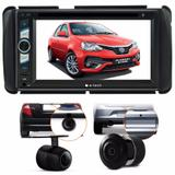 Kit Dvd Central Multimidia Toyota Etios + Moldura + Brinde - Multi marcas