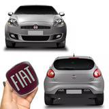 Kit Emblemas Fiat Bravo Dianteiro Traseiro Adesivo Resinado - Sportinox