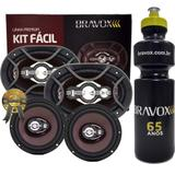"""Kit Fácil Bravox 6x9"""" e 6"""" 300W RMS Linha Premium + PRESENTE"""