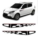 Kit Faixa Sandero Gt Line 2013 Adesivo Lateral Decorativo - Sportinox