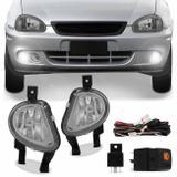 Kit Farol de Milha Corsa Pick-Up Wagon 00 a 02 Corsa Sedan Hatch 99 a 02 Corsa Classic 03 a 10 - Kit prime