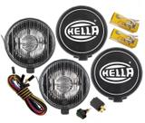 Kit Farol Milha Auxiliar Hella 500 Black Magic Original