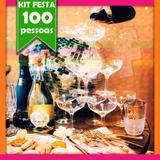 Kit Festa Balada Casamento 100 Convidados - Festabox