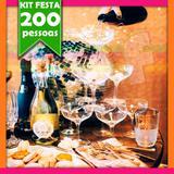Kit Festa Balada Casamento 200 Convidados - Festabox