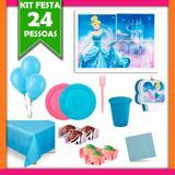 Kit Festa Cinderela 24 Pessoas - Festabox