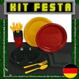 Kit Festa Copa do Mundo Alemanha 20 pessoas - Festabox