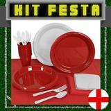 Kit Festa Copa do Mundo Inglaterra 20 pessoas - Festabox