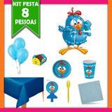 Kit Festa Galinha Pintadinha 08 Pessoas - Festcolor