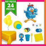 Kit Festa Galinha Pintadinha 24 pessoas - Festa box